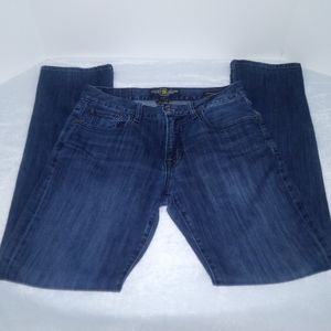 Lucky Brand mens original straight jeans